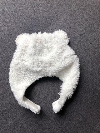 Baby Polar Bear Beanie Hat