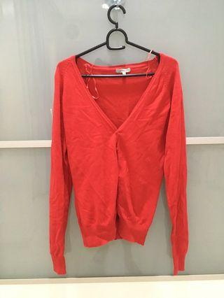 Tex women Red Cardigan