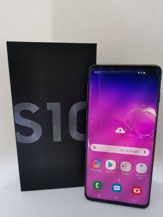 Samsung s10 prism black (used)