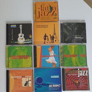 Latin Jazz & Bossa Nova CD Collection