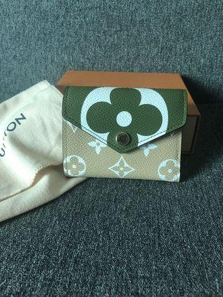 Louis Vuitton Zoe Wallet Giant Monogram Khaki LV 銀包 限量版 特別版