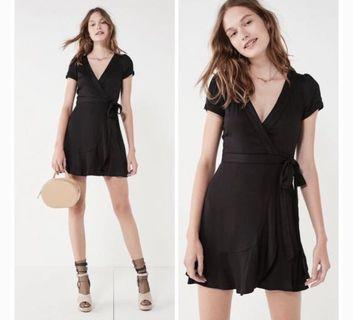 Urban outfitters wrap mini dress