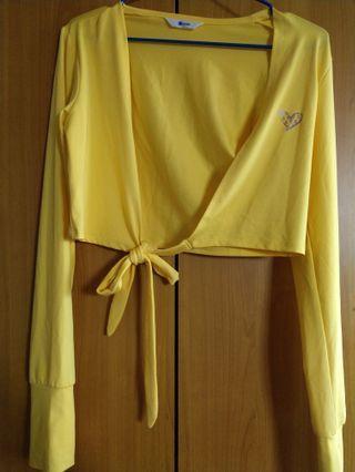 🚚 抗UV防曬短版罩衫外套