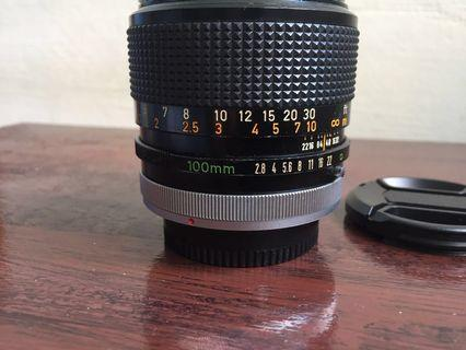 Canon SSC Lens