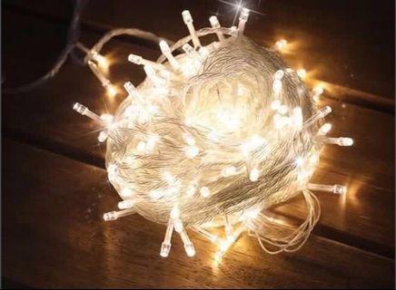 清倉特價聖誕燈10m100燈