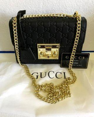 Gucci padlock gg embos made italy 😍 ORI leather lentur dan tebel