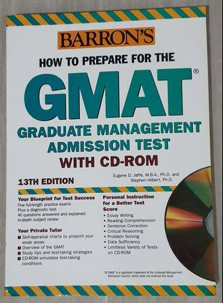 How To Prepare For The GMAT 13th Edition by Eugene D. Jaffe & Stephen Hilbert