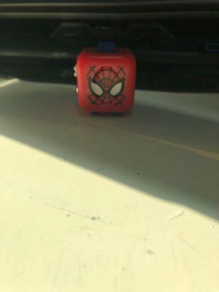 Spider man fidget cube