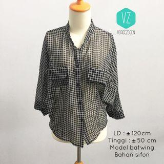 Square batwing top