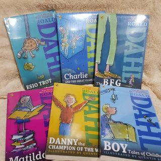 15 Brand New Roald Dahl Books Collection