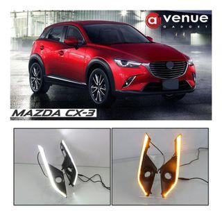 Mazda CX3 CX-3 Fog light Daytime Running Light DRL LED Day Light