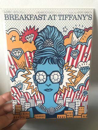 🚚 Postcards - Breakfast at Tiffany's / Totoro / Party Cats