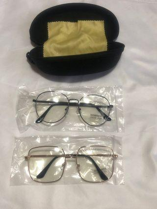 UV400 Protection Glasses (With case and cloth)