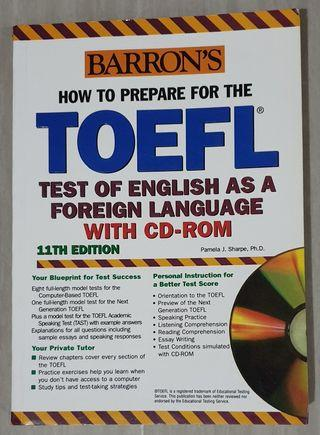 How To Prepare For The TOEFL 11th Edition by Pamela J. Sharpe