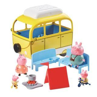 Peppa pig camping trip