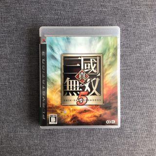 PS3 真三國無雙 5 Shin Sangokumusou 5 Playstation Game