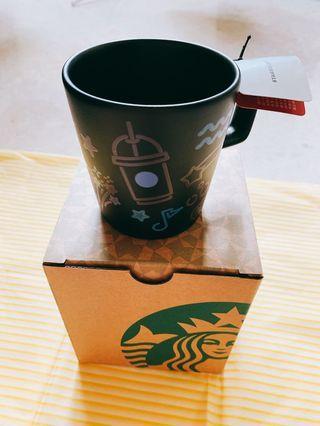 Starbucks Energetic Rainbow Mug 8oz