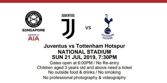 Juventus VS. Tottenham - CAT 1 - BEST SEATS