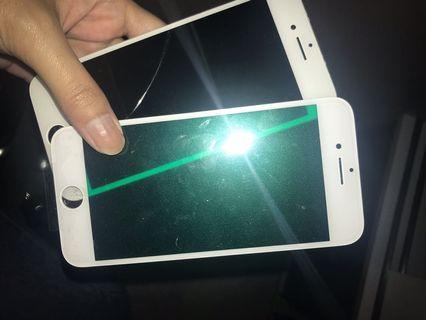 Lcd iphone 7 original + kaca lcd