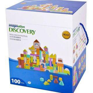 Imagination Discovery Multi Activity Blocks