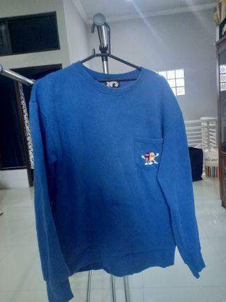 Sweater blue m&m