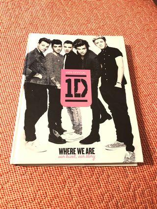 One Direction Where We Are Hardback Book