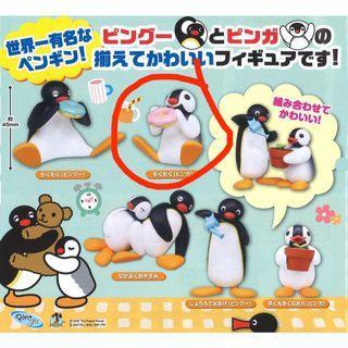 Pingu 扭蛋 擺設 公仔