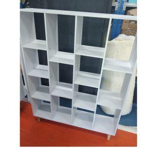 BRAND NEW white storage shelve