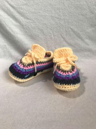 Crochet Nike Inspired Baby Shoes