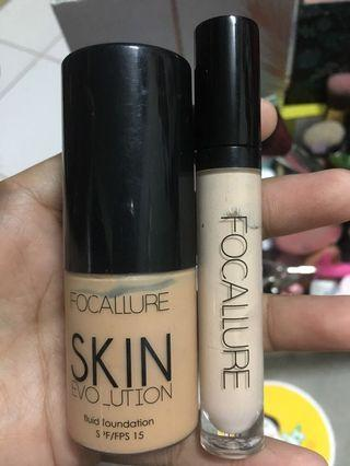 Foundation dan Concealer Focallure