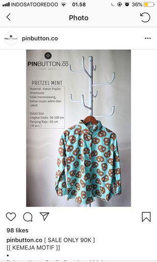 Pinbutton.co Pretzel Cookies Tosca Shirt