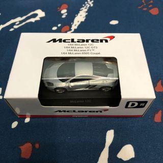 Kyosho 1/64 McLaren MP4-12C
