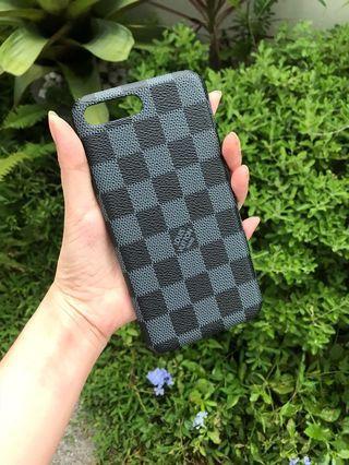 LV hard case ( leather )