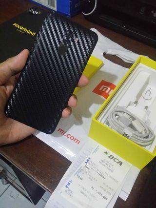 Xiaomi Pocophone F1 Fullset Nota
