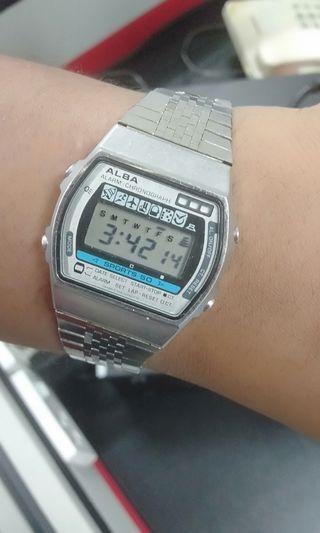 Retro 1990s Alba Digital Watch