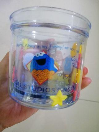 USS cookie monster mug with details