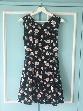 Earth music & ecology Daisy Black One Piece Dress #junesalefashion