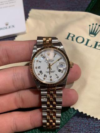 🚚 Rolex Datejust 68273