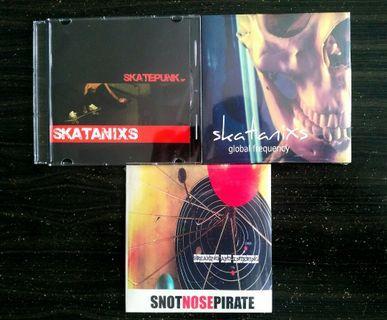 CD's | Skatanixs,Snot Nose Pirate
