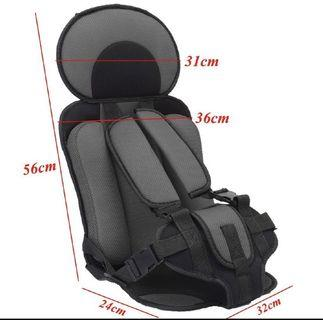 Portable car seat for baby, kid, child 6months to 6years old