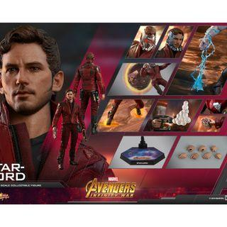 PO: Hot Toys MMS539 Avengers: Infinity War - 1/6th scale Star-Lord Collectible Figure