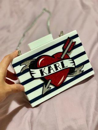 Karl Lagerfeld Clutch 全新!100% Authentic