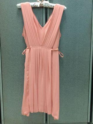 Peach Dress #MGAG101