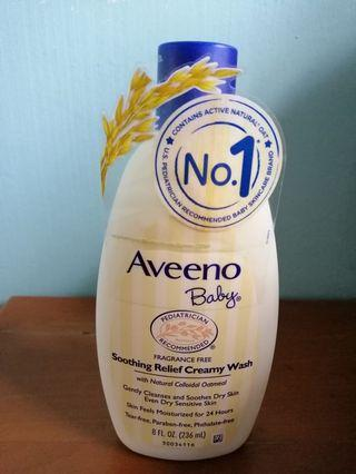 🚚 BN aveeno baby soothing relief creamy wash