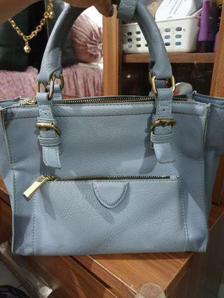 Zara Bag warna biru