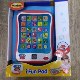 Winfun mainan electronic ipad anak