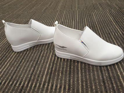 CASUAL SHOES WITH HEIGHTENED INSOLES - C127(WHITE)