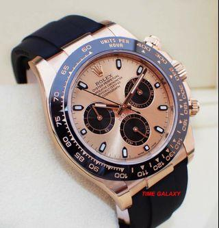 ROLEX Cosmograph Daytona 40mm solid Everose Gold