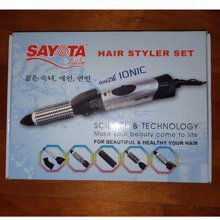 SAYOTA ASLI Full set hair styler catokan blower