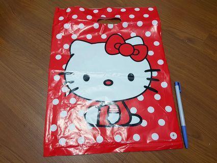 🚚 Hello Kitty 凱蒂貓 購物袋 提袋 包裝袋